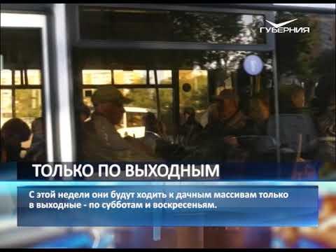 Дачные автобусы в Самаре меняют свое расписание