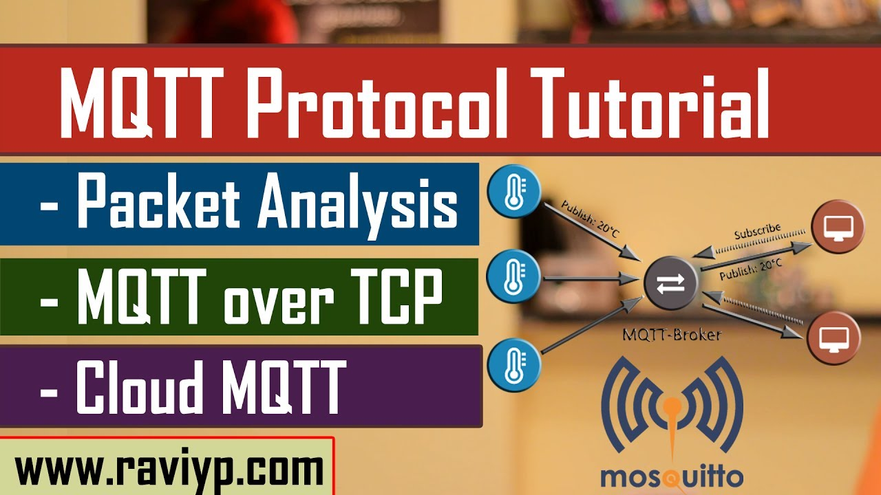 MQTT Protocol tutorial - LIVE DEMO using Mosquitto and CloudMQTT