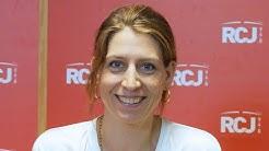 L'invitée de 12h30 Adèle Van Reeth au micro de Perrine Simon Nahum sur RCJ