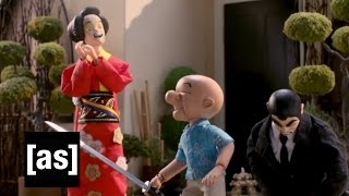 Mr. Magoo: Blind Swordsman | Robot Chicken | Adult Swim