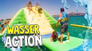 MEGA WASSER ACTION im WATER PARK 😂 mit Lulu & Leon - Family and Fun