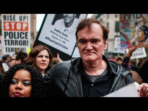 Quentin Tarantino Marches Against Police Brutality