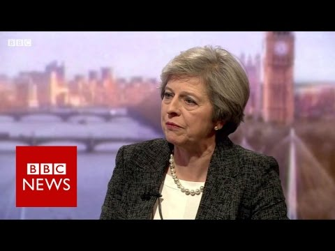 Theresa May \'won\'t be afraid\' to challenge Donald Trump - BBC News