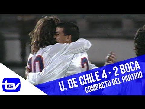 Universidad de Chile 4 - 2 Boca Juniors (1995)