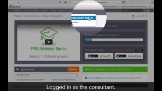 Tutorial: Medical consultants and medical billers accessing a doctor's account // drchrono EHR