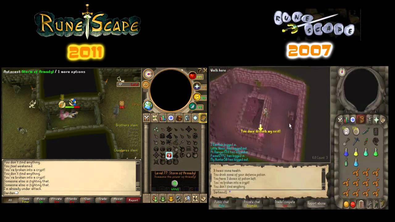 how to run in new runescape
