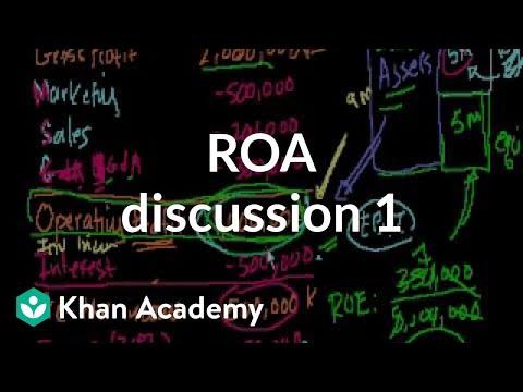 ROA discussion 1 | Stocks and bonds | Finance & Capital Markets | Khan Academy