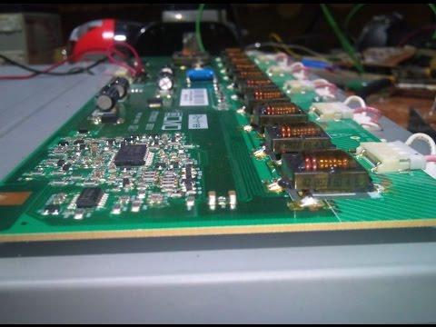 Как применить с пользой ЖК LCD Телевизор с разбитой матрицей .