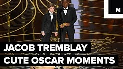 Jacob Tremblay's Cutest Moments of Oscars 2016