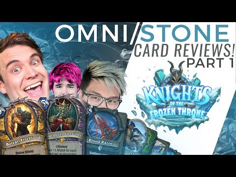 Brian Kibler, Firebat & Frodan Review Knights of the Frozen Throne Cards pt. 1