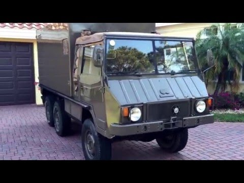 SOLD!!! 1975 Steyr/Puch Pinzgauer 712M Ambulance for sale by Autohaus of Naples AutohausNaples.com