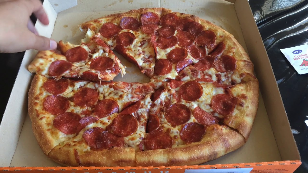 Little Caesars STUFFED CRUST EXTRAMOSTBESTEST Review