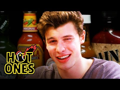 Shawn Mendes Reveals a New Side of Himself While Eating Spicy Wings  Hot Ones