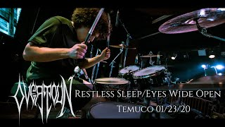 OVERTOUN - Restless Sleep/Eyes Wide Open (Temuco, CL - January 23, 2020)
