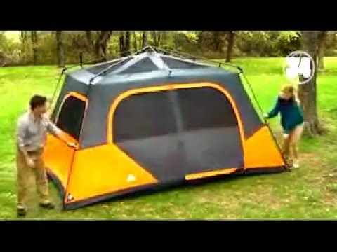 & Ozark Trail 8 Person Cabin Tent Review - Walmart Tents - YouTube