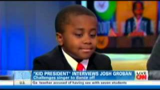 Repeat youtube video Kid President on CNN