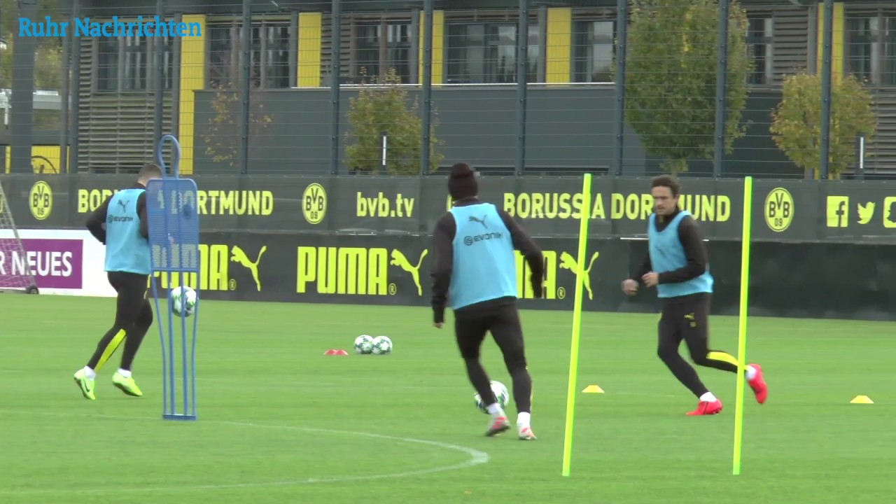 BVB-Training am Tag nach dem Wolfsburg-Spiel