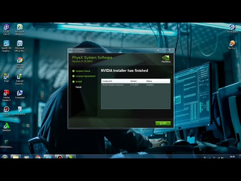How To Install Nvidia Physx System Software New Version 9.18.0907