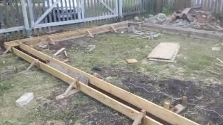 видео Фундамент под гараж: как сделать своими руками