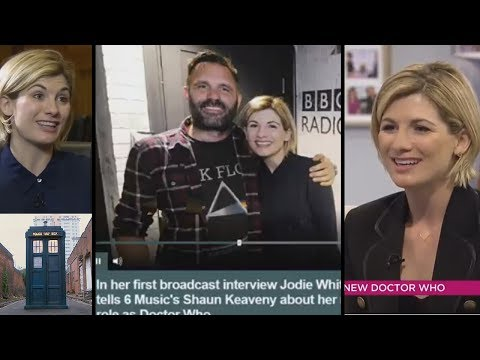 Jodie Whittaker Interviews, Talks Doctor Who.