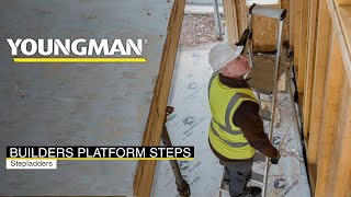 50,000 Reasons to Choose Youngman Builders Platform Steps