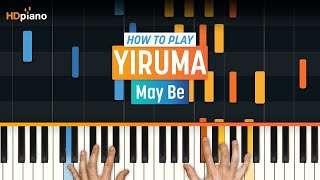 How To Play 34 May Be 34 by Yiruma