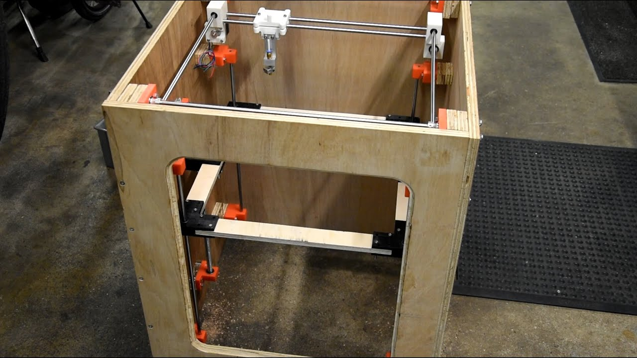 Diy 3d printer build from scratch part 5 more 3d printer plan