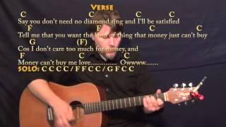 Can't Buy Me Love (BEATLES) Strum Guitar Cover Lesson with Chords/Lyrics