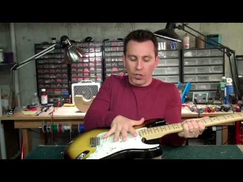 Stratocaster  Intonation Tip - Billy Penn 30guitars.com