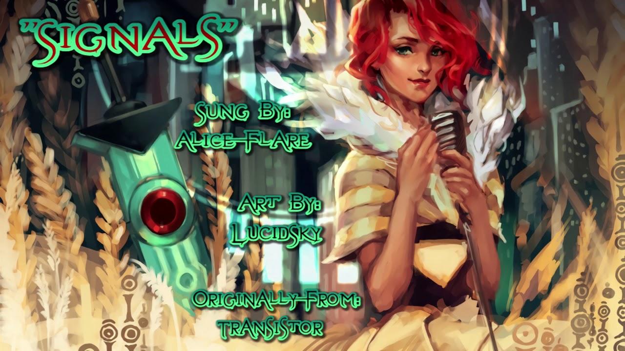 Signals Transistor Vocal Cover Alice Flare Youtube