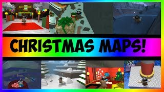 [Christmas Special!] Christmas Map Compilation   ROBLOX FE2 Map Test