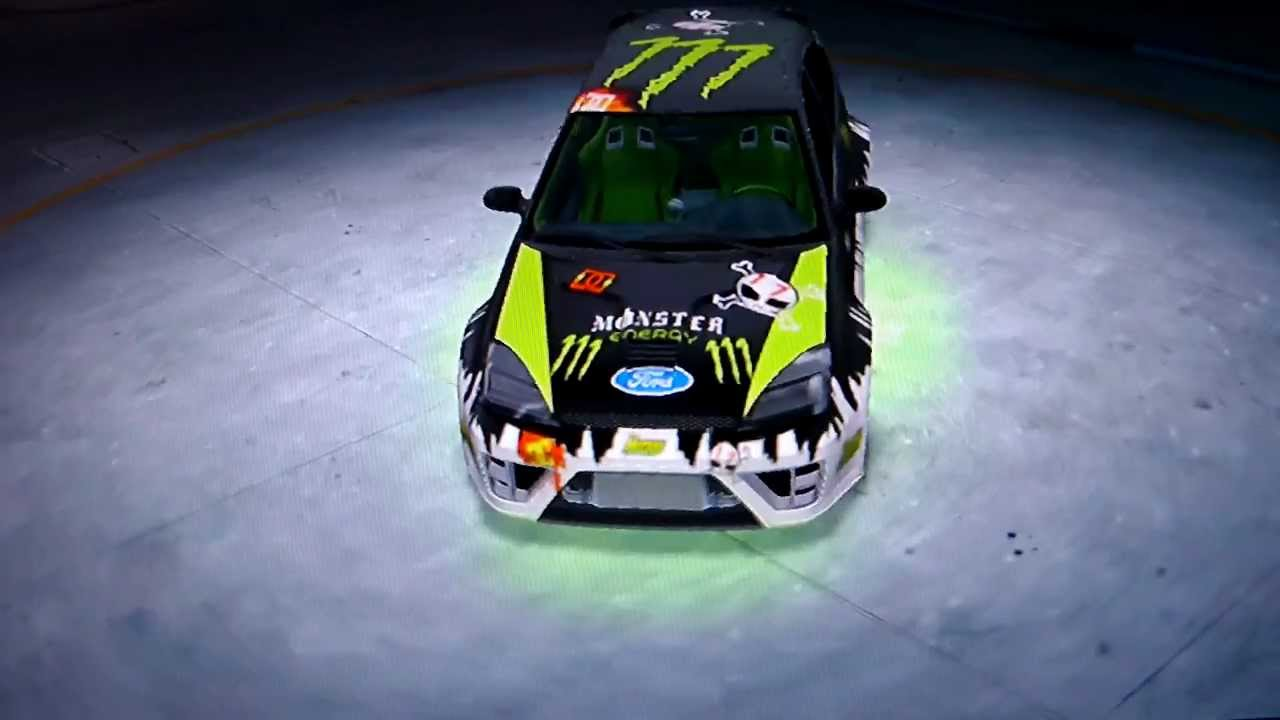 midnight club los angeles dirt 3 monster energy ford