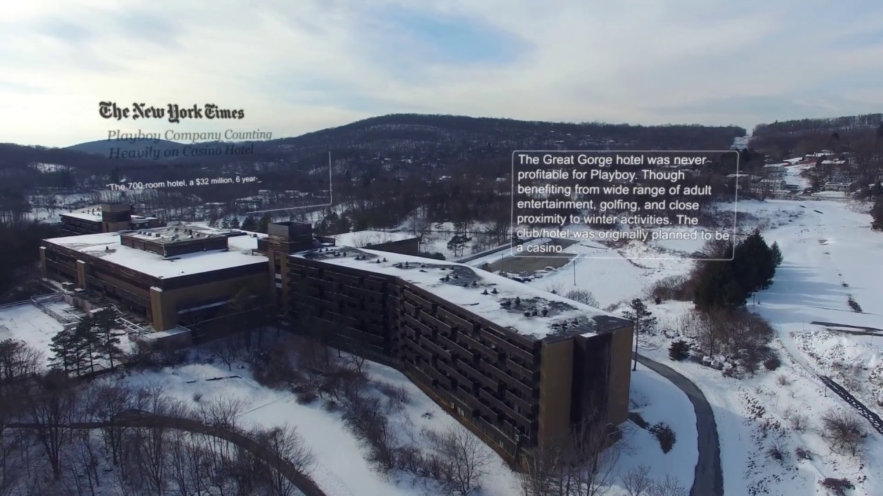the former playboy resort and country club (at great gorge) - youtube
