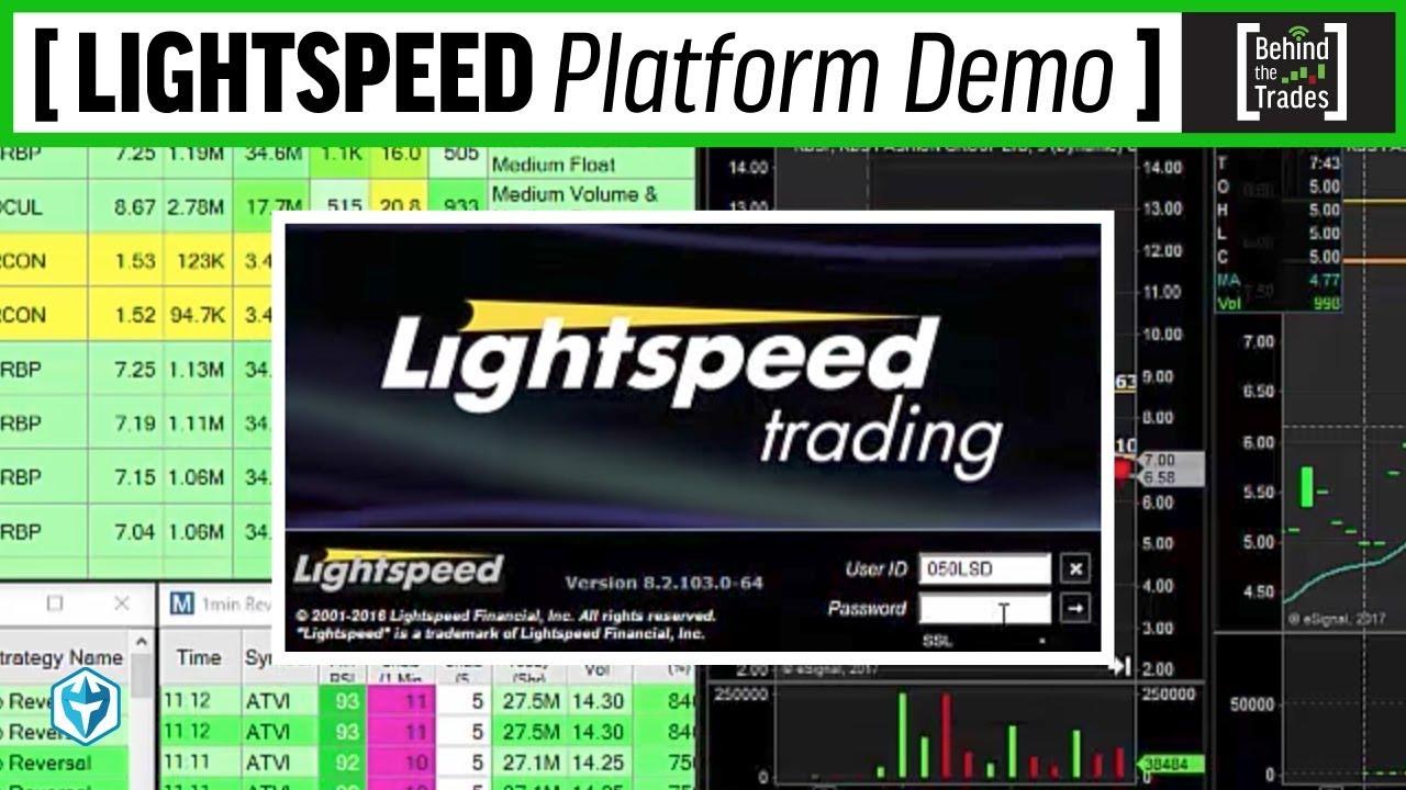 Lightspeed Platform Demo Behind The Trades Ep 3 Youtube