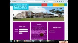 School Management System - PHP, MySql, CSS Mp3