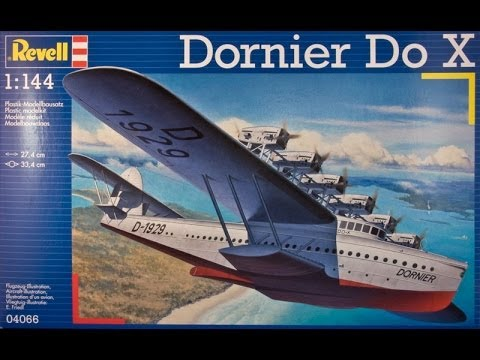 "AlexModelling ""Outbox review of 1/144 Revell Dornier DO X"""