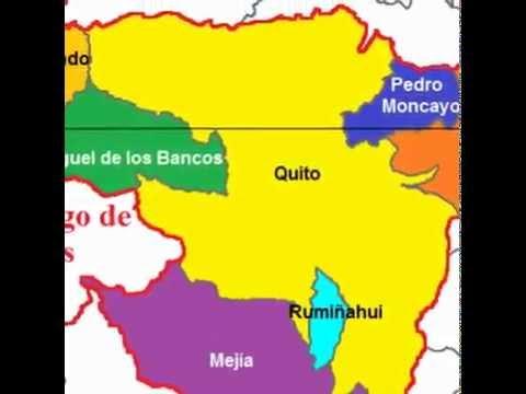 CANTONES  DE  QUITO  2014