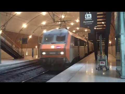 [SNCF] Passage d'un train de FRET a Monaco-Monte-Carlo