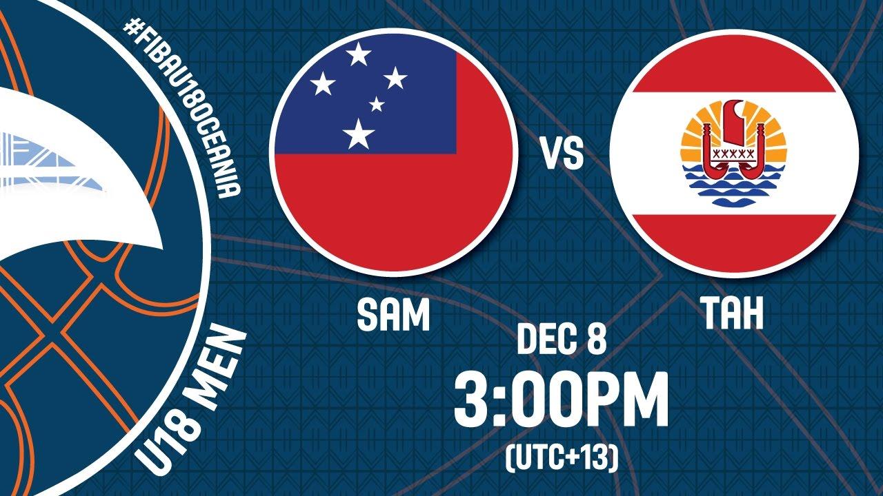 Samoa v Tahiti - Live Stream - FIBA U18 Oceania Championship 2016