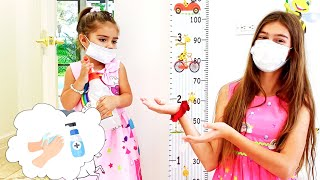 Nastya and stories for children about the Doctor