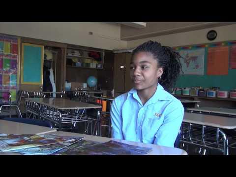 Mott Hall III Girls Talk Wireman