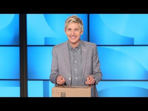 Ellen Unboxes a New Trend