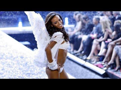 Black Fashion Models at The Victorias Secret Fashion Shows -