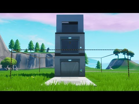 How to build a working elevator in Fortnite Creative