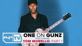 """#tommorello #theatlasunderground #oneongunzit's virtually impossible to hear the name """"tom morello"""" and not one of his signature guitar parts in your he..."""
