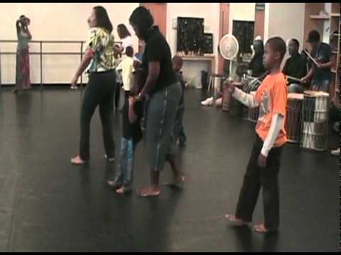 Delou Africa, Inc. - Education Outreach Programs: Children Perform the  West African Dance 'Funga'
