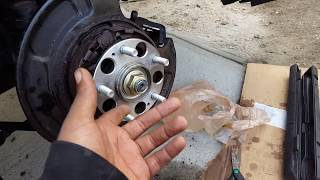 Acura wheel bearing more than big how to replace rear wheel bearing tutorial part 2 sciox Gallery