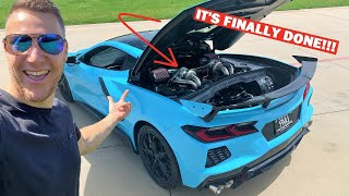 MY TWIN TURBO C8 IS DONE!!! The World's BEST C8 Twin Turbo Kit?!?