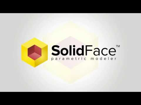 SolidFace Collaborative 3D CAD software