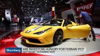 Fiat Chrysler CEO Marchionne Bullish on Ferrari IPO